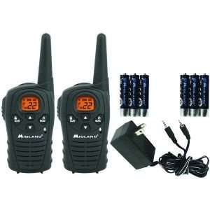 MIDLAND XT27VP 22 CHANNEL GMRS RADIO PAIR PACK WITH