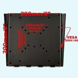 Flat LCD Plasma Monitor TV Wall Mount Bracket Fits RCA 26 32