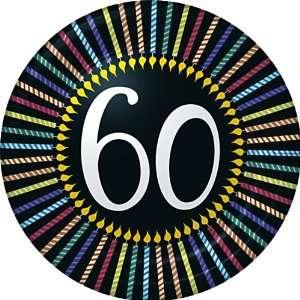 60th Birthday Party Dessert Plates   Sixtieth Birthday