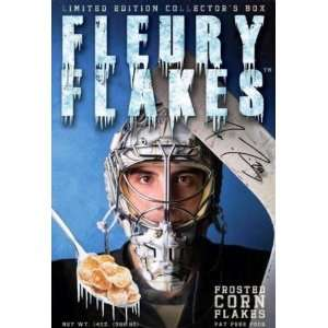 NHL Pittsburgh Penguins Marc Andre Fluery Flakes Cereal