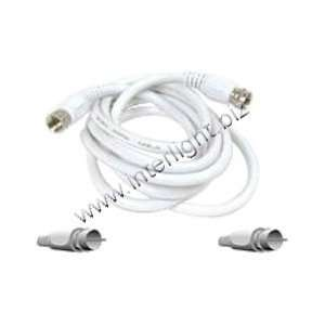 06 WHT BELKIN PRO SERIES ANTENNA CABLE F CONNECTOR (M) F CONNECTOR