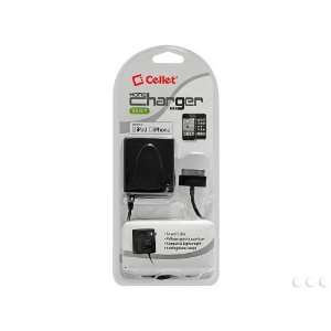 Cellet Home Charger with Folding Blade For Apple iPhones, iPod