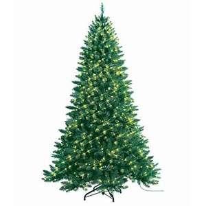 Medium Alpine Spruce Pre Lit Artificial Christmas Tree   Clear