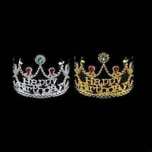 Birthday Star Tiara / Crown   Assorted Colors Toys
