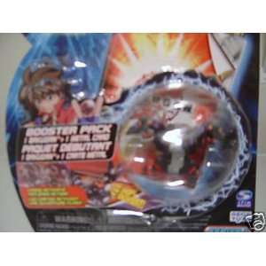 Bakugan Booster Pack BLACK TWO HEADED HYDRANOID Toys