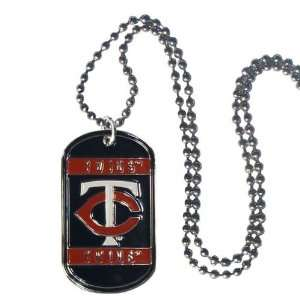 Minnesota Twins Dog Neck Tag Necklace Officially Licensed MLB Baseball