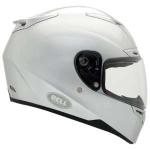 Bell RS 1 Silver Solid Full Face Motorcycle Helmet   Size