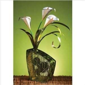 Deco Breeze DBF0253 Cala Lilies Figurine Table Top Fan
