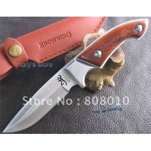 browning full tang rosewood bowie hunting knife br049 knife knives