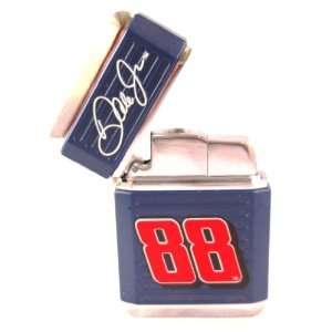Earnhardt Jr #88 Refillable Butane Lighter in Tin Box