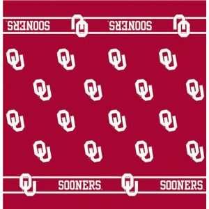 54 Collegiate Team Table Cloth Card Team Oklahoma