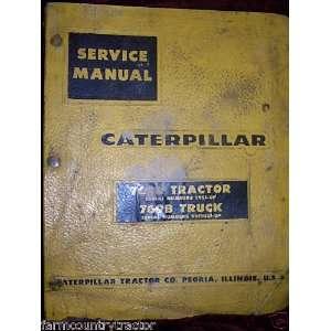 Caterpillar 768B/769B Tractor & Truck OEM Service Manual Caterpillar