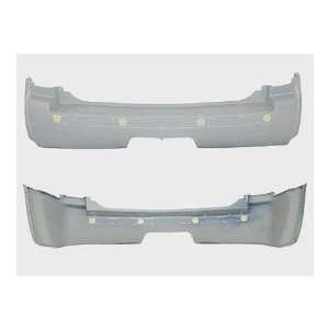 /WAGON (FULL SIZE) Rear bumper cover Grand Cherokee Limited; w/chrome