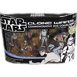 Star Wars Clone Wars Animated Commemorative DVD Collection and gt