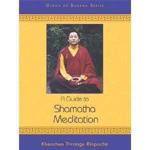 Meditation (Ocean of Dharma): Khenchen Thrangu Rinpoche: Books