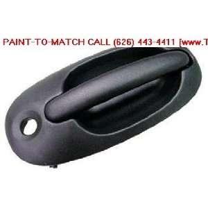 DOOR HANDLE FRONT LEFT (DRIVER SIDE) TEXTURE BLACK COLOR Automotive