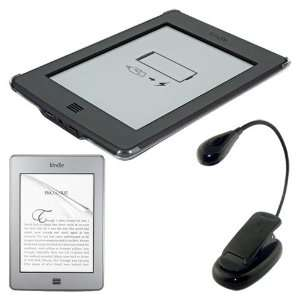 Cover Case + Ebook Light for  Kindle Touch E book Reader