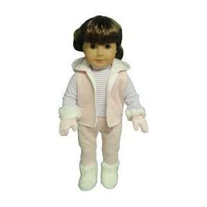 Toy Complete Hooded Snowsuit for American Girl dolls Toys & Games