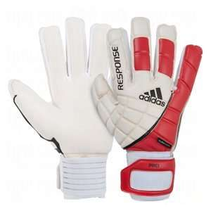 adidas Response Pro Goalie Gloves White/Red/Black/7