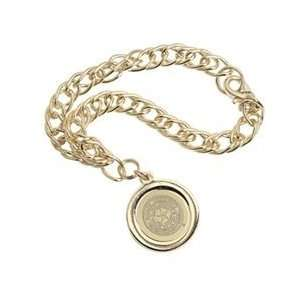 Baylor   Charm Bracelet   Gold