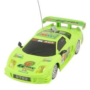 40MHz Remote Control 4WD 1:24 Scale Racing Car Toy Green: Toys & Games