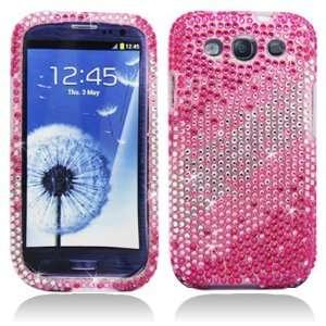 PINK LAYER Rhinestone/Crystal/Bling/Diamond Hard Case
