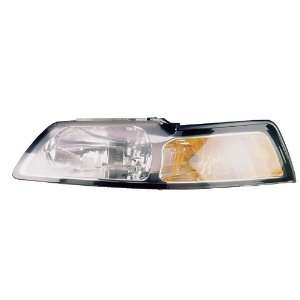 Ford MUStANG WItH CHROME BEZEL Headlight LEFt HAND Automotive