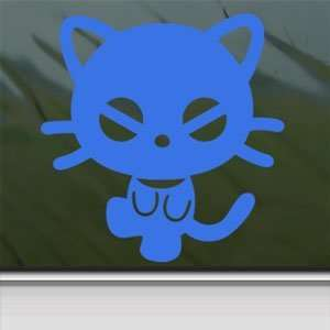 Chococat Blue Decal Sanrio Hello Kitty Window Blue Sticker