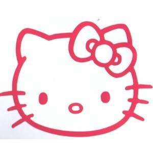 Hello Kitty Decal Sticker in Pink