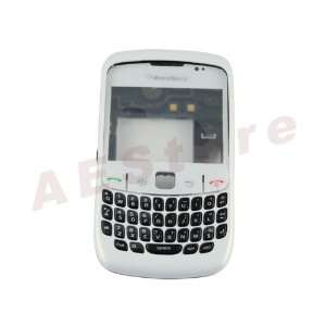 Blackberry Curve 8520 Full Housing Case Keypad Case Us White Music