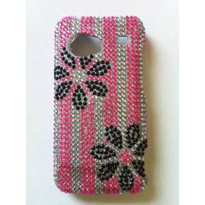 Bling Rhinestone Diamante Case Cover Protector + High Quality Privacy