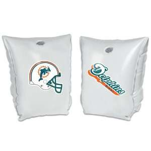 Miami Dolphins NFL Inflatable Pool Water Wings (5.5x7 inch