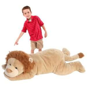 Cute Jumbo Plush Pet Lion Toys & Games
