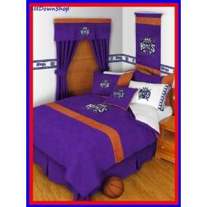 Sacramento Kings 4pc MVP Twin Comforter/Sheets Bed Set