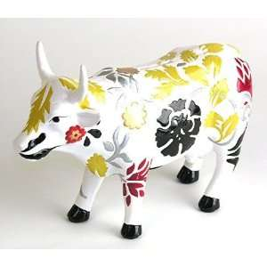 Unique Handpainted Ceramic Bank  Cow: Toys & Games