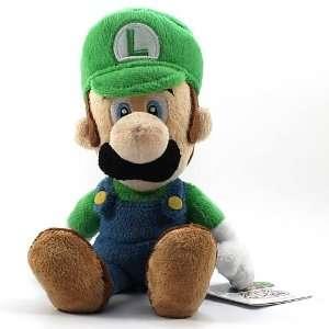 Super Mario Bros. Small Size Luigi Plush Doll Toys & Games