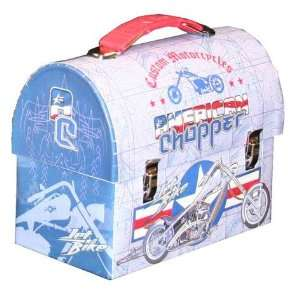 Jet Bike Large Wokmans Carry All Tin Lunch Box Everything Else
