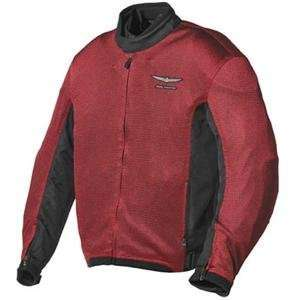 Honda Collection Gold Wing Millenium Mesh Jacket   Medium/Wine/Black