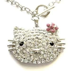 Kitty Swarovski Crystal Necklace Pendant 17 HOT