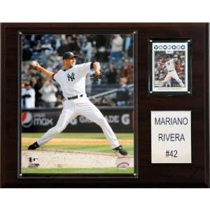 MLB Mariano Rivera New York Yankees Player Plaque