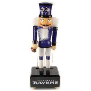 Ravens Wind Up Musical Christmas Nutcrackers
