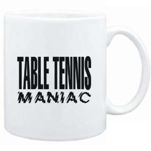 Mug White  MANIAC Table Tennis  Sports Sports