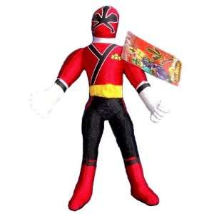 Red Ranger Doll   Power Rangers Samurai Plush (10 Inch