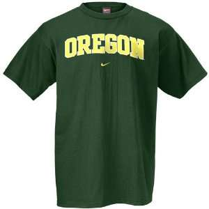 Nike Oregon Ducks Green Preschool Classic College T shirt