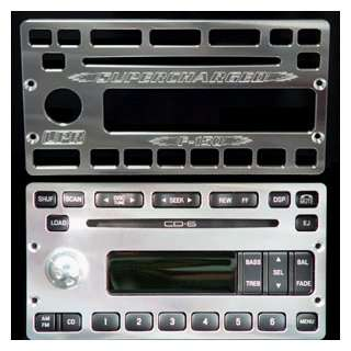 Billet Radio Faceplate for CD 6 Radios: Automotive