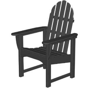 Poly wood Recycled Plastic Wood Classic Adirondack Dining Chair