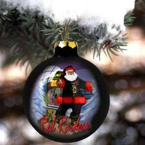 Texas Tech Red Raiders Hand Painted Glass Ornament Sports