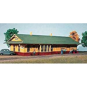 American Model Builders N Scale Northern Pacific Depot Kit