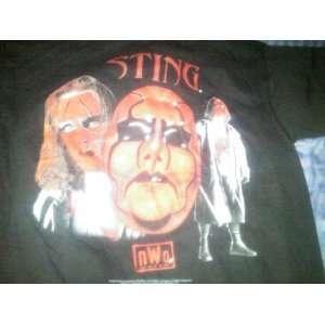 Black Extra Large (XL) T Shirt WWF WCW TNA ECW WWE