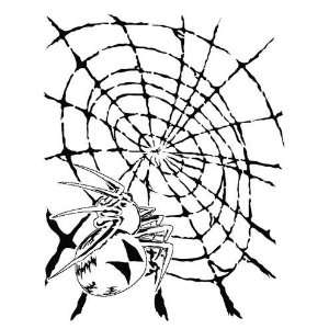 SPIDER #5 WEB/INSECT/BUG AIRBRUSH STENCIL TEMPLATE ART